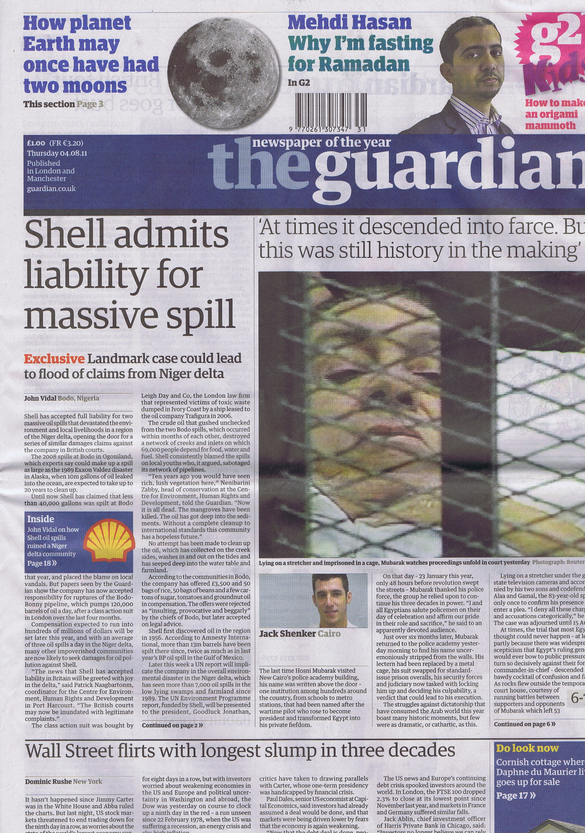 Shell admits liability for massive spill | Shell to Sea
