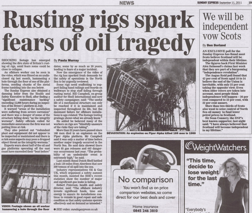 Image Gallery oil spill article