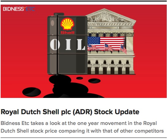 Rdsa Quote: Royal Dutch Shell Plc B Historical Share Price And With It