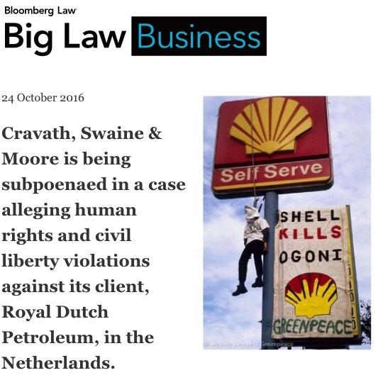 kiobel vs royal dutch petroleum essay Kiobel v royal dutch shell petroleum this case concerns the involvement of multinational corporations in overseas human rights crimes but it raises a more basic.